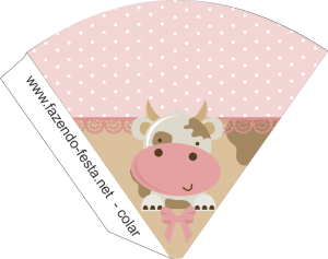 Cow in Pink: Free Printable Kit. | Oh My Fiesta! in english