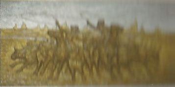 Encierro de Ganado 126 x 61 cms. Humberto Elias Velez Urrao - Colombia
