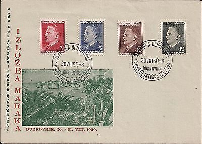 #Yugoslavia 1950 - tito set on cover - #chess olympics #cancelation,  View more on the LINK: 	http://www.zeppy.io/product/gb/2/351657730307/