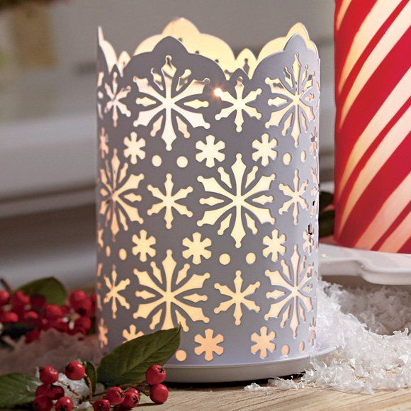 PartyLite Winter Lace Candle Sleeve - last day to add it to your collection is December 18, 2013 (order must be submitted before 9 PM PT)