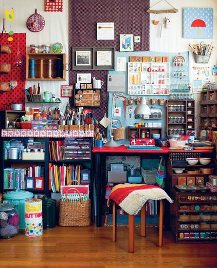 eclectic crafts room. Contemporary Eclectic Eclectic Living Room By Ryland Peters U0026 Small  CICO Books Inside Eclectic Crafts Room N