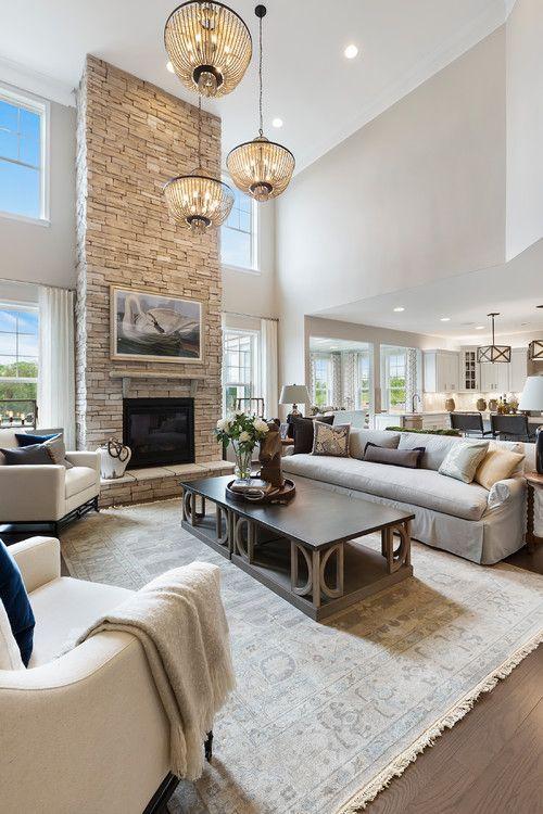 Modern Farmhouse Style Living Rooms #modernfarmhouselivingroom