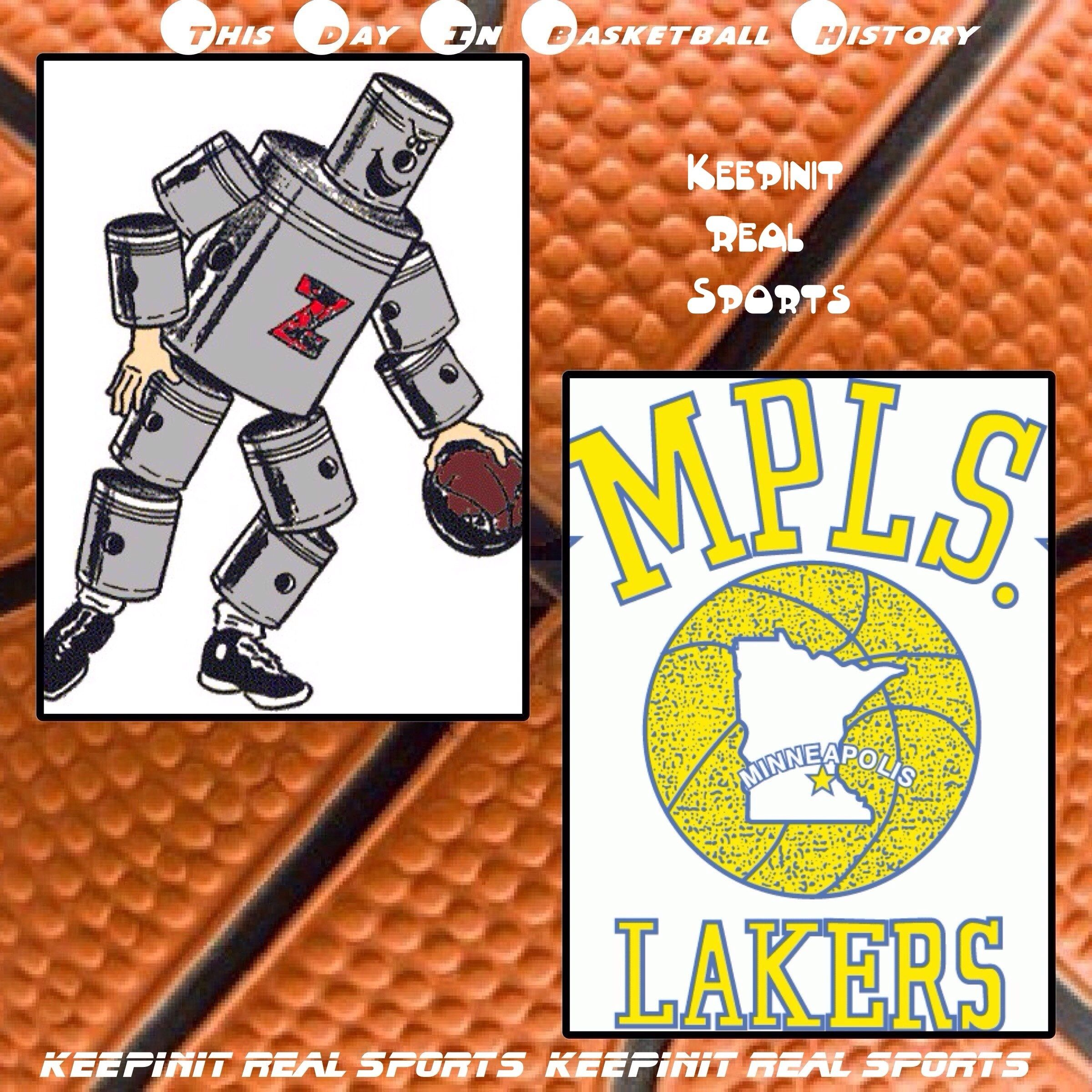 This Day In Basketball History November 22 1950 The Lowest Scoring Game In The Nba Was Played The Fort Wayne Pis Basketball History Detroit Pistons Lakers