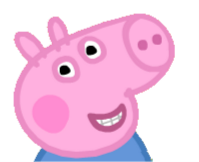 And I Can Never Resist George From Peppa Pig When He Shows His Teeth Peppa Pig Created By Astley Peppa Pig Memes Peppa Pig Coloring Pages Pig Memes