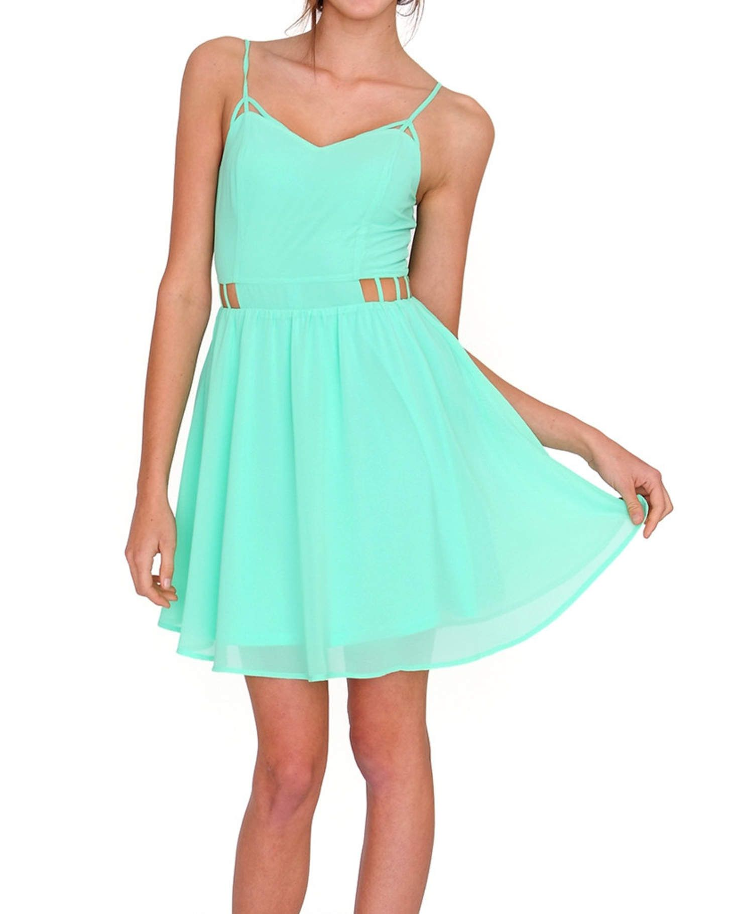 Scent of summer dress neon green family jessica pinterest