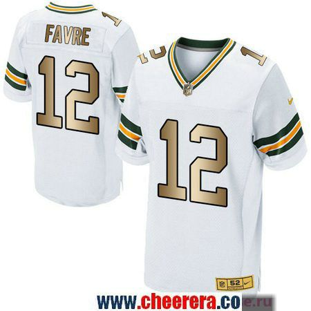 ... Mens Green Bay Packers 12 Aaron Rodgers White With Gold Stitched NFL  Nike Elite Jersey ... b61818902
