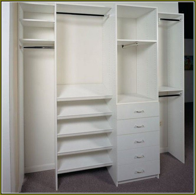 Reach In Closet Organizers Do It Yourself Best Home Design Ideas
