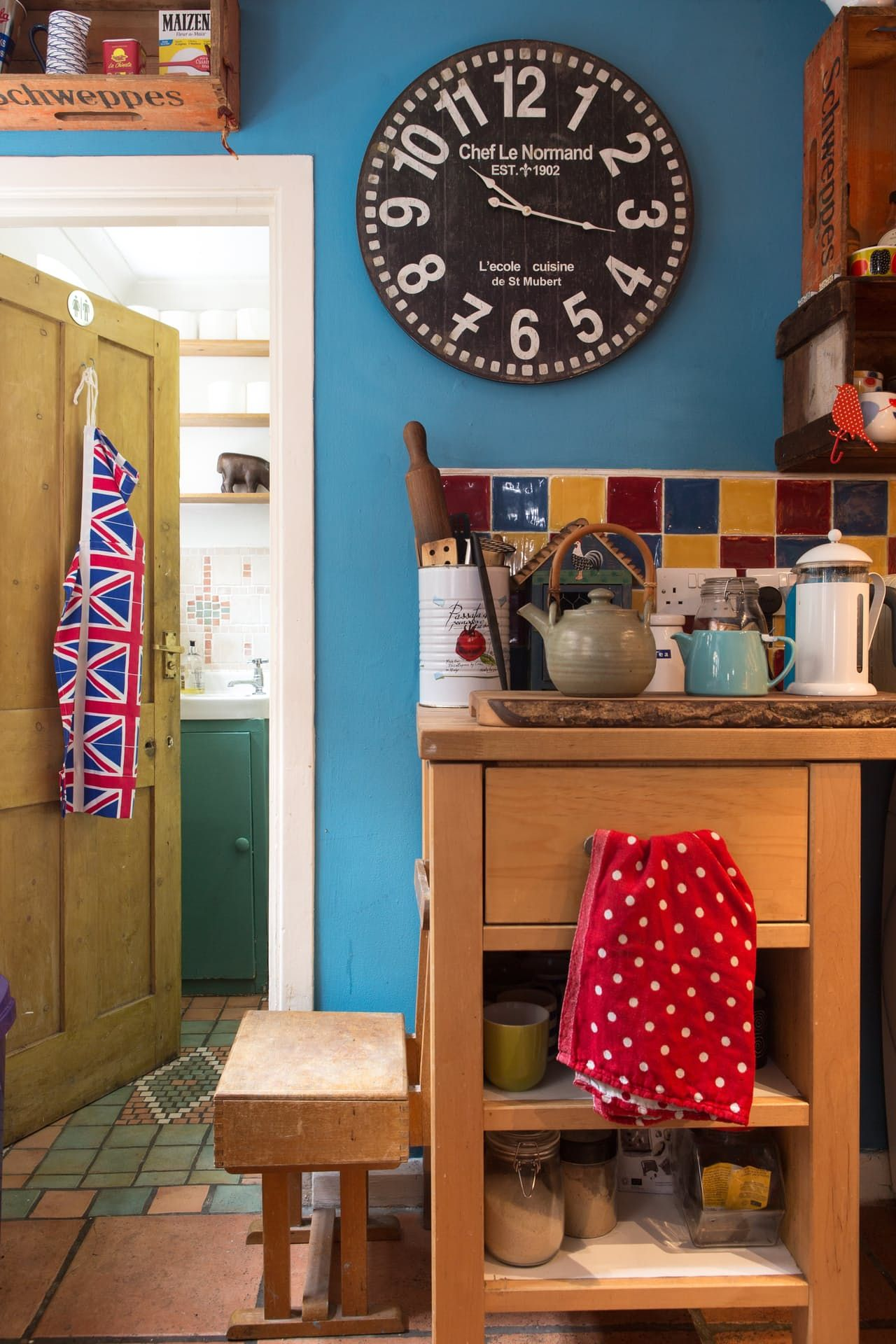 Shauna & John's Post Punk Eclectic English Home and Artist's Studio