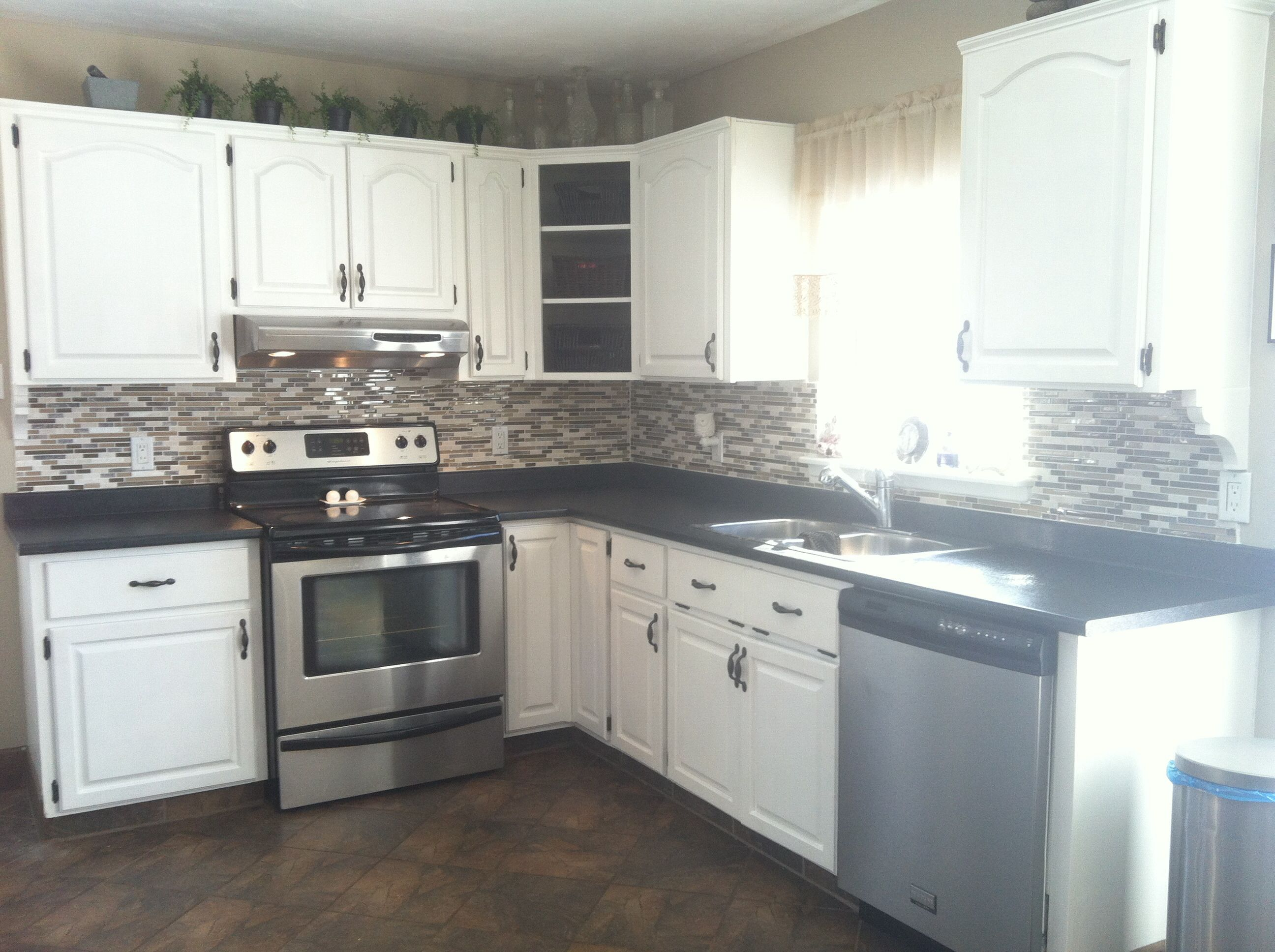 Lied The Jet Black Beauti Tone Countertop Transformation Kit Painted Cupboards With