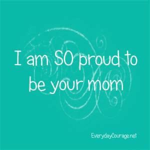 I am so proud to be your Mom | Being a Mother ❤️ | I love ...