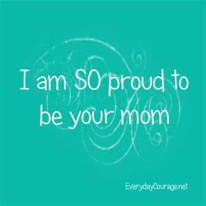 I Am So Proud To Be Your Mom My Boys Carta A Mi Hija Mamá
