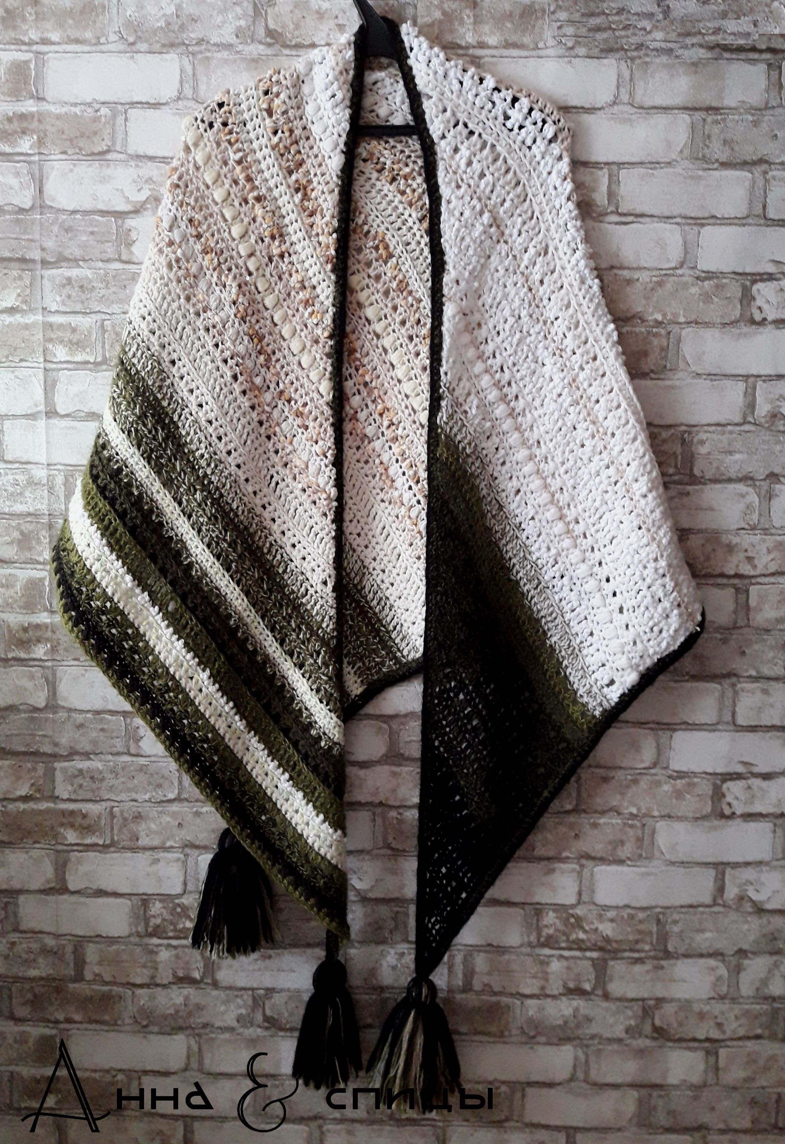 вязание из разной пряжи от любителей вязания