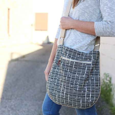 Trail Tote featuring Doe by Carolyn Friedlander