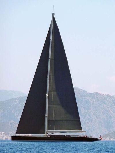 modern pirate yacht