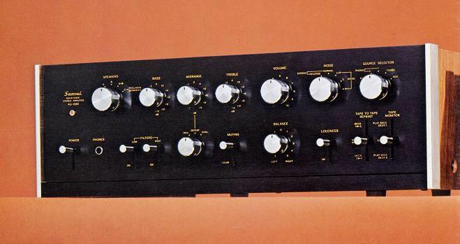 SANSUI AU-888 (1971年頃)