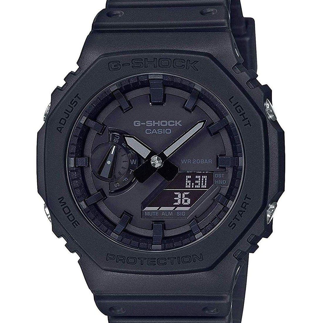 Casio G Shock Carbon Core Watch GA 2100 1A1 GA2100 1A1  GWFyv