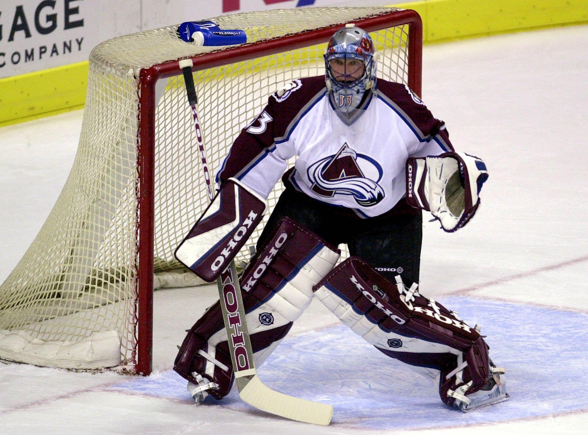 Patrick Roy Hockey Goalie Goalie Sport Icon