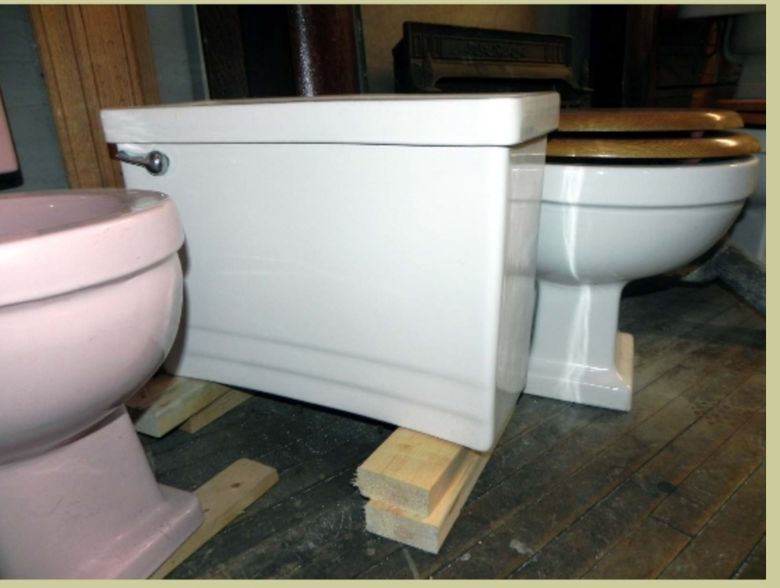 2nd Floor Hall Bath Toilet Hall Bathroom Vintage Bathrooms Cabinet Light Fixtures