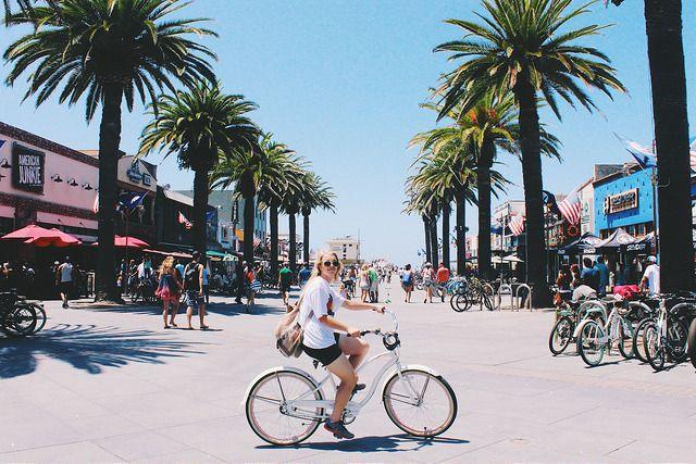 Strand Bike Ride Redondo Beach Pier