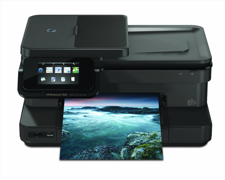 HP Photosmart 7520 Wireless eAllinOne Color Printer