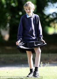 Image result for boys in dresses and tights