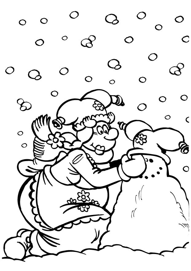 Plop The Gnome Kleurplaten voor kinderen. Kleurplaat en afdrukken tekenen nº 12