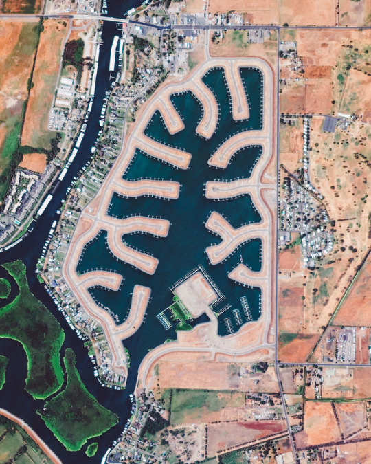 Daily Overview Bethel Island San Joaquin Image Of The Day