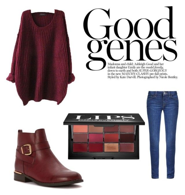 """#Fall thursday picks"" by mafapassaro ❤ liked on Polyvore featuring Levi's, Wanted and Bobbi Brown Cosmetics"