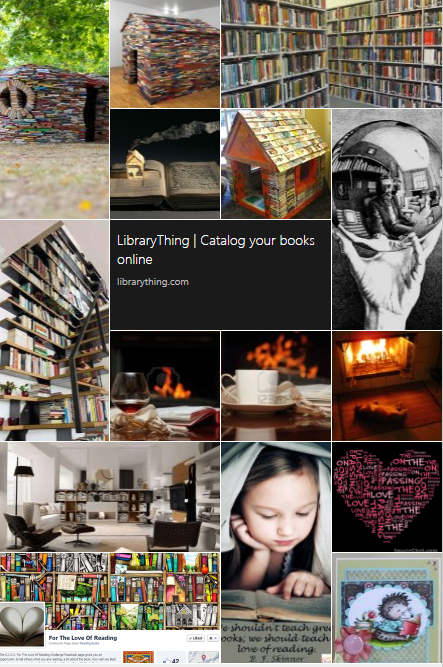 Mad about books - collage from so.cl