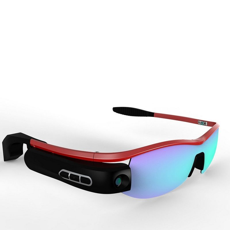 9356648f0825 Polarized Bluetooth Wifi Smart Sunglasses With Earphone Hands-free DVR  Replaceable Lens 8 millionPixel 8G RAM For all Smartphone