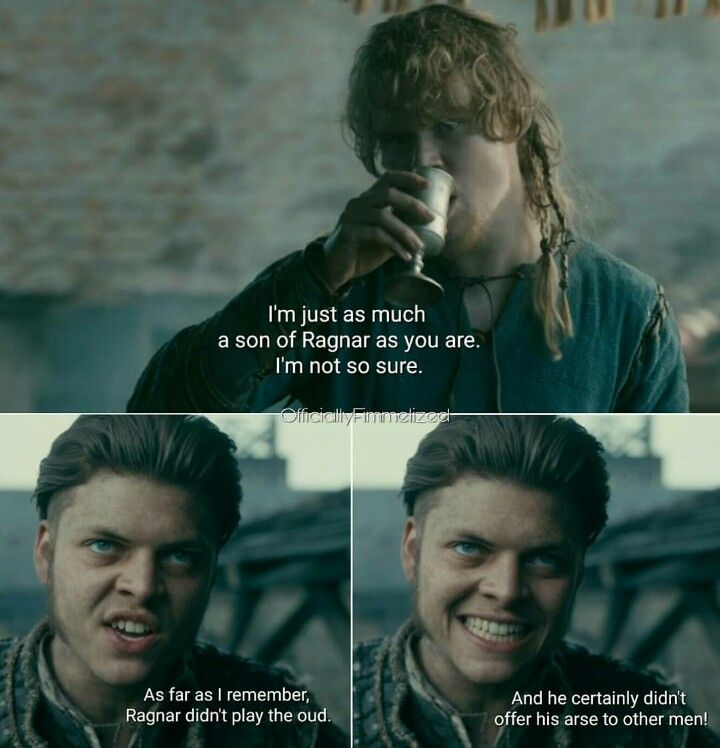 Poor Sigurd    seriously Ivar that is so uncalled for | My