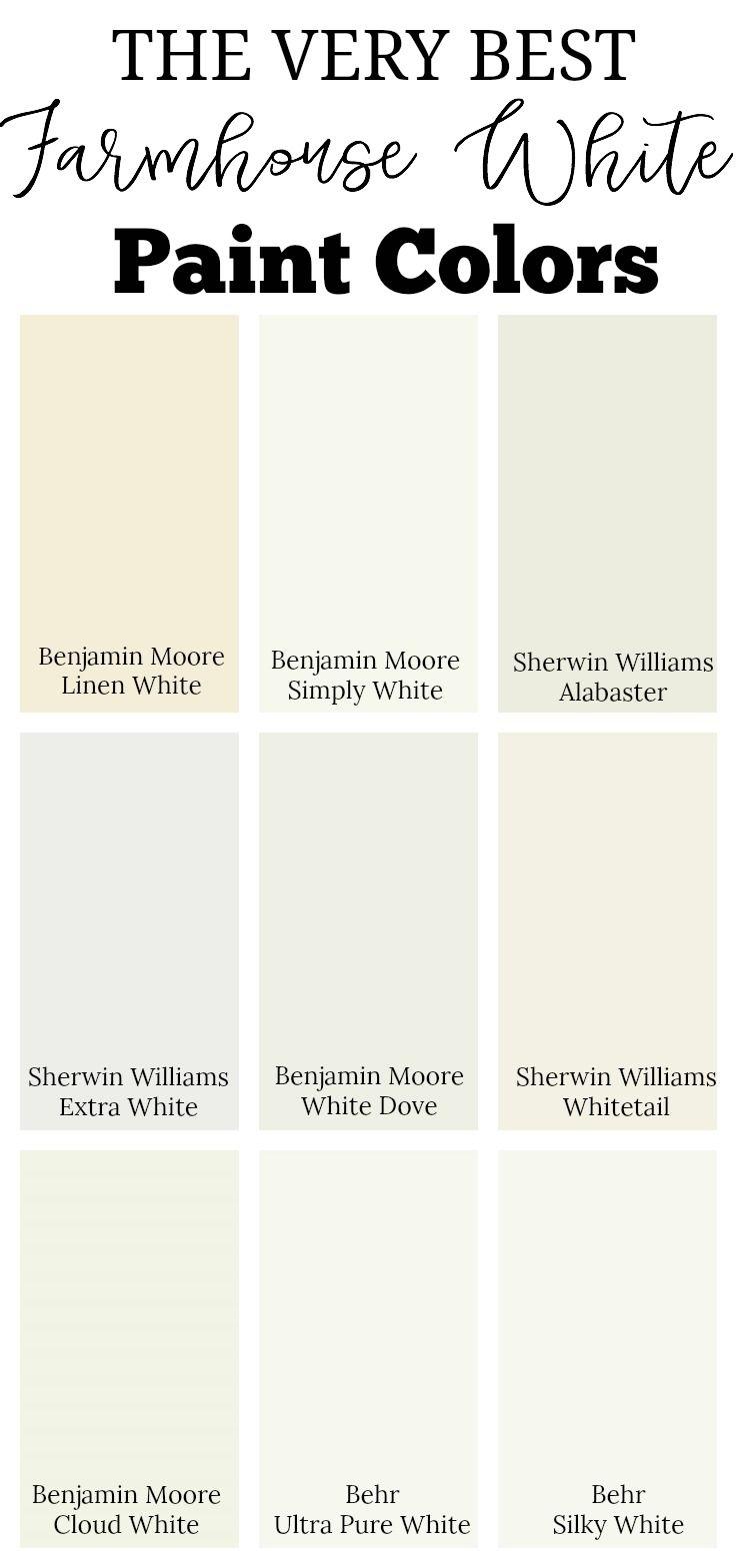 The Best Neutral Paint Colors White Paint Colors Best Neutral