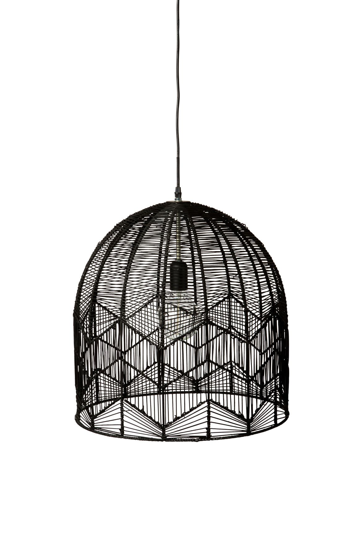 Lace Rattan Light Black Pendant Light Lace Pendant Black Pendant Light