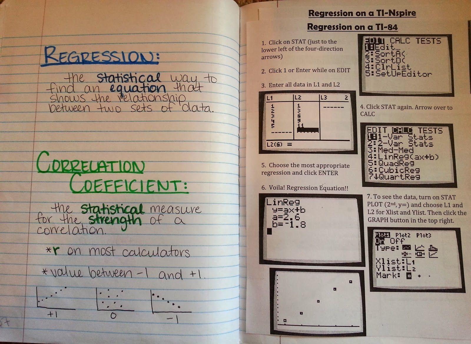 Using Calculator Screenshots Inside Interactive Notebooks
