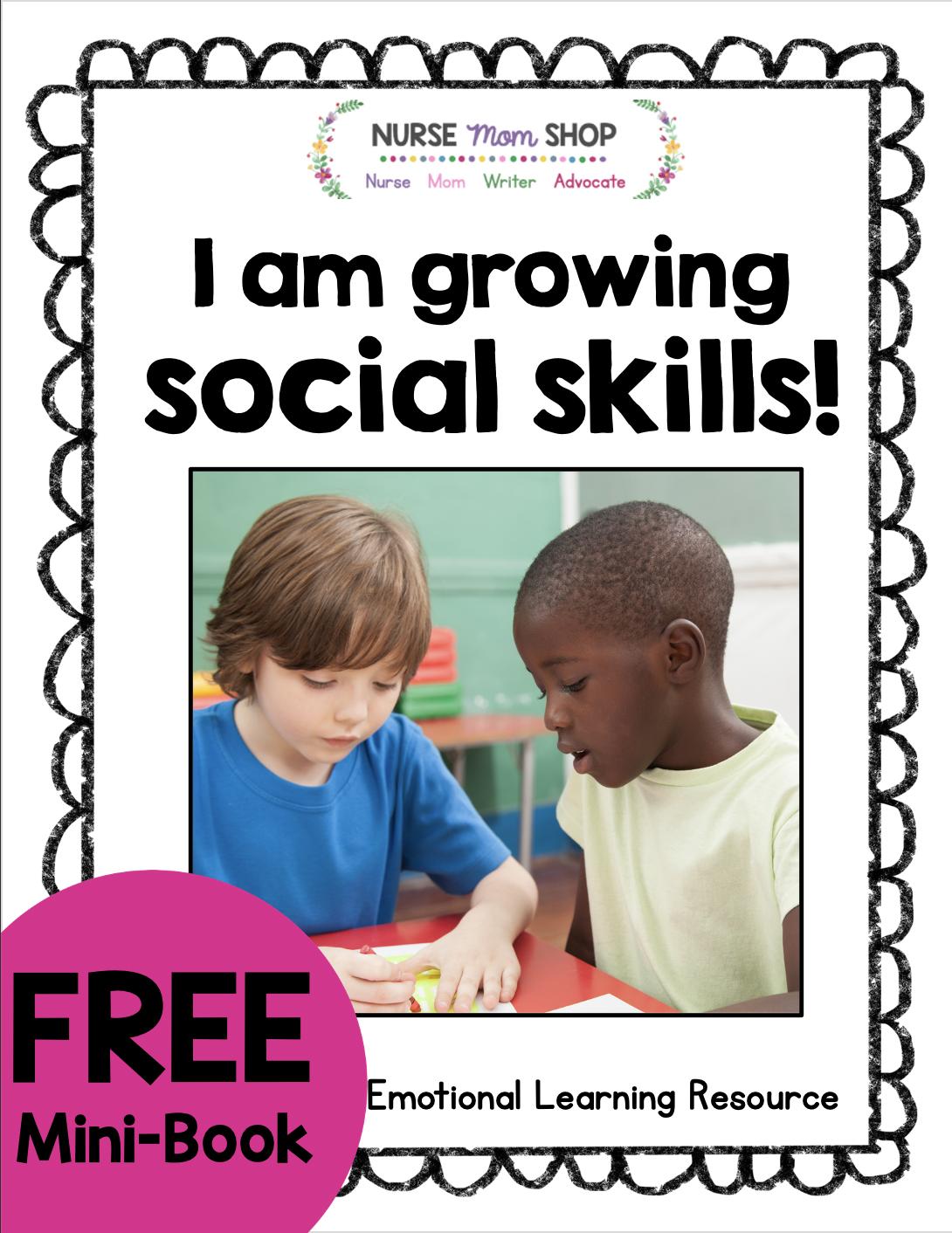 Free Preschool Printables in 2020   Social skills, Social ...