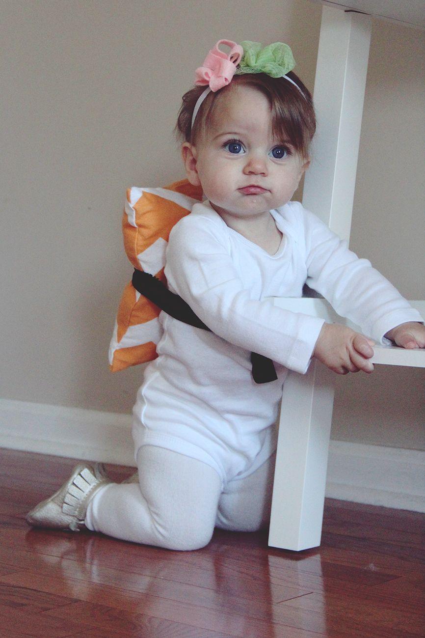 diy baby sushi halloween costume | halloween | pinterest | sushi