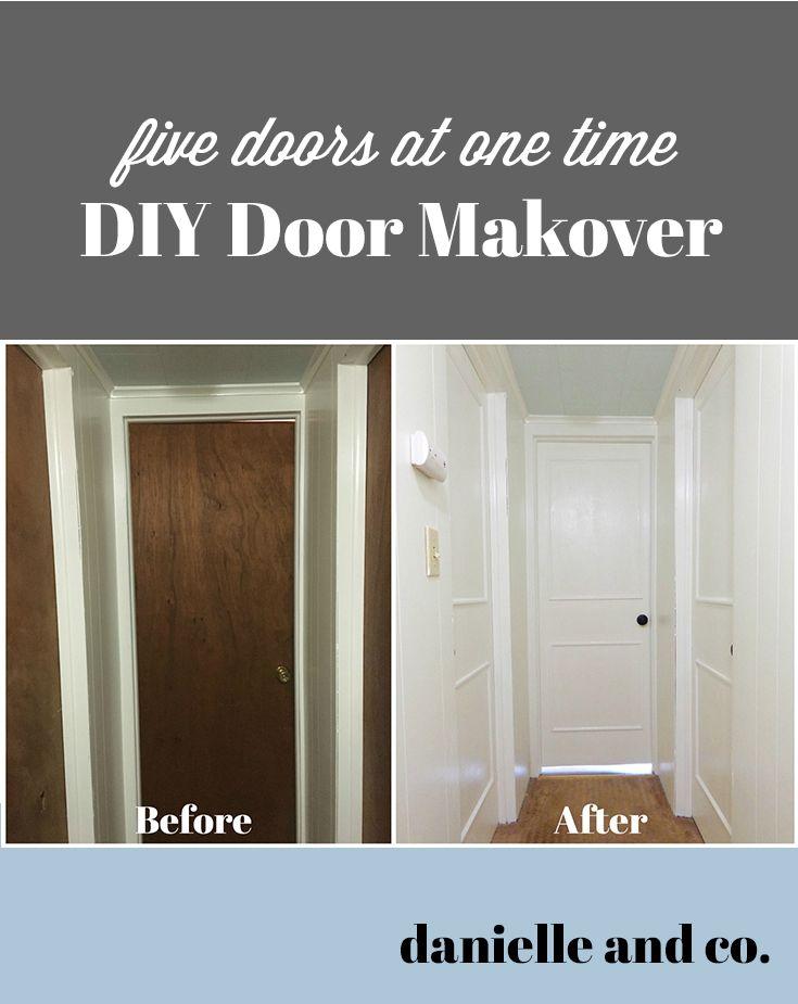 Diy Interior Door Makeover Five Doors At Once Best Of Danielle