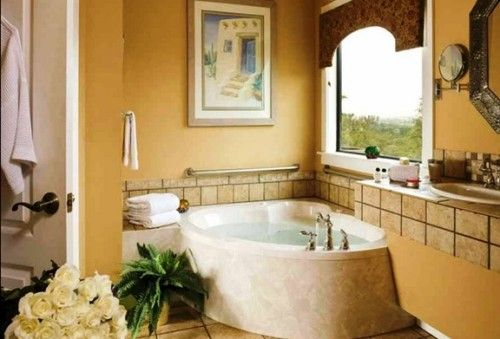 Fabulosos Diseños de Baños con Tina o Bañera baños Pinterest