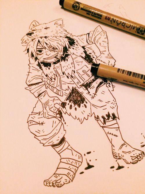 Sevro, by Mai at maichn.tumblr.com