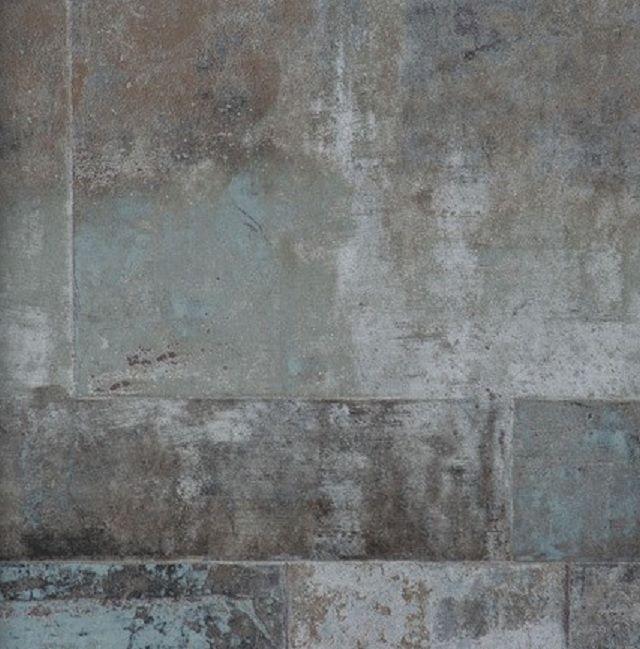 Neu! Vlies Tapete 47210 Stein Muster Bruchstein Anthrazit