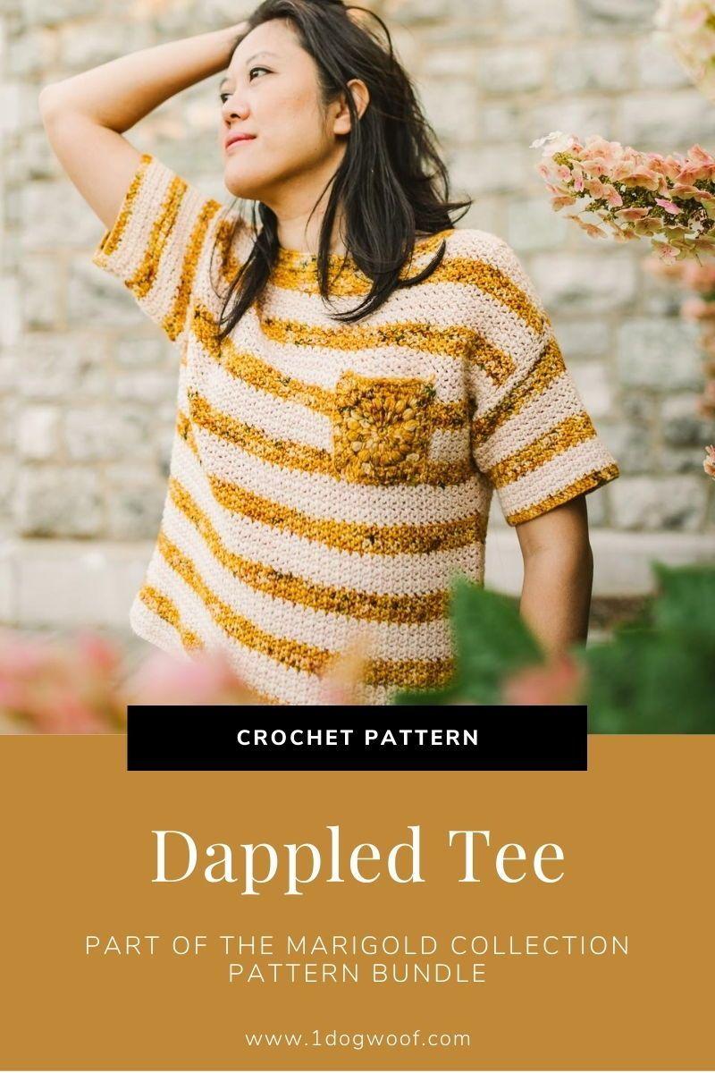 Dappled Tee CROCHET PATTERN