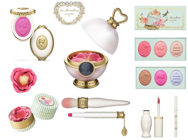 ❥ Les Merveilleuses de Ladurées {whimsical new makeup line from Laduree}