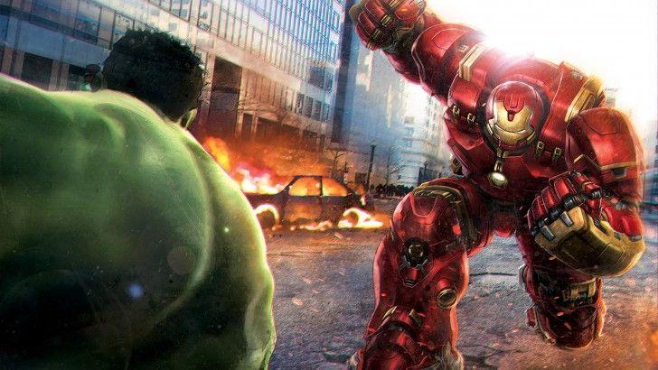 Download Hulk Vs Iron Man Hulkbuster Art 4k Widescreen 3840x2400