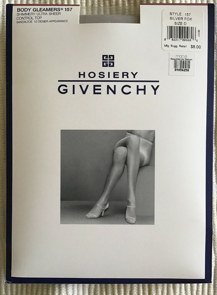 9e26169fe49bc Details about New Givenchy Body Gleamers Pantyhose Shimmery Control ...