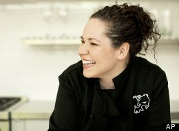 Stephanie Izard of Chicago's acclaimed Girl and the Goat restaurant.