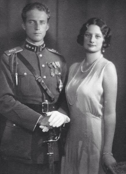 King  Leopold III and Queen Astrid of Belgium