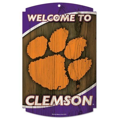 Vintage Sign Shak - Clemson Tigers University Wood Sign, $21.95 (http://www.vintagesignshack.com/clemson-tigers-university-wood-sign.html)