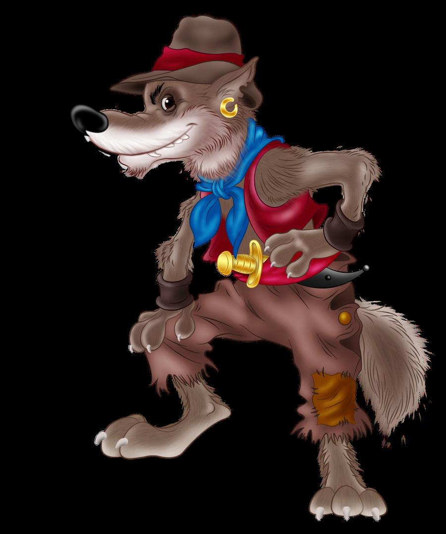 Сказочные герои картинки волк