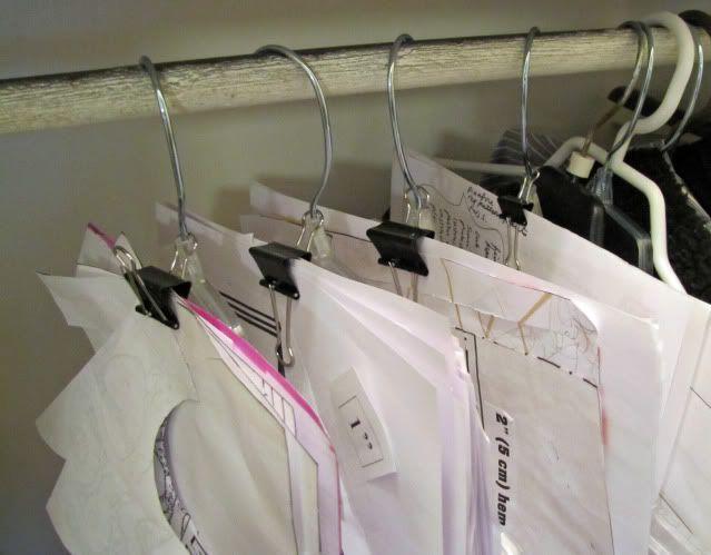 Organize Me Sewing Patterns Sewing Pattern Storage Sewing