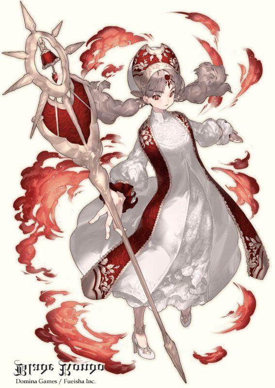 Ozyako On2019 女 魔術師装備 キャラクターデザインイラスト